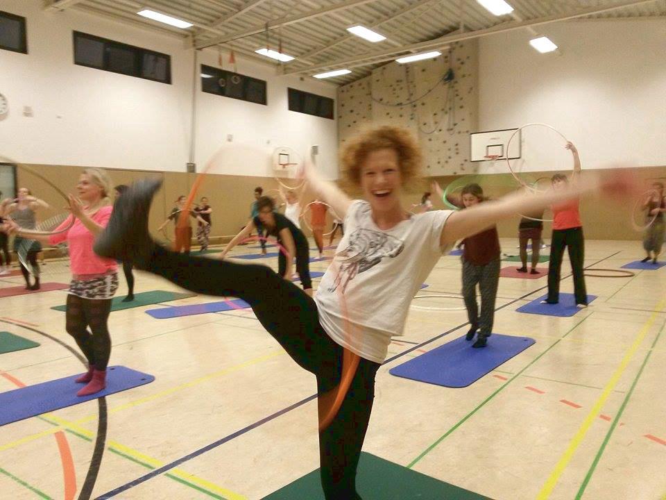 Hoopdance Workshop in Köln