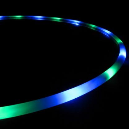 Blue Moon- LED Hoop